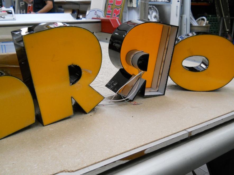 lettere scatolate