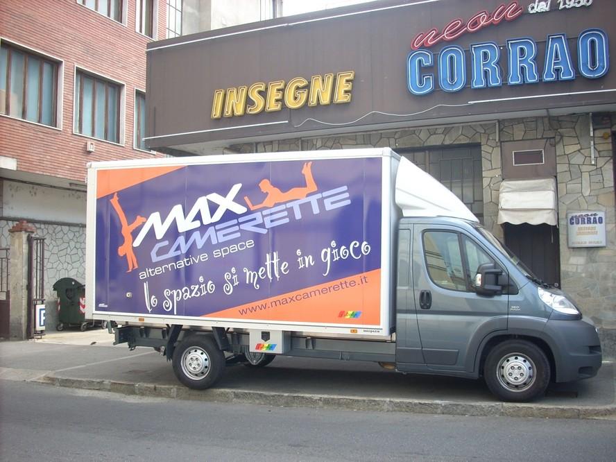 furgone max camerette